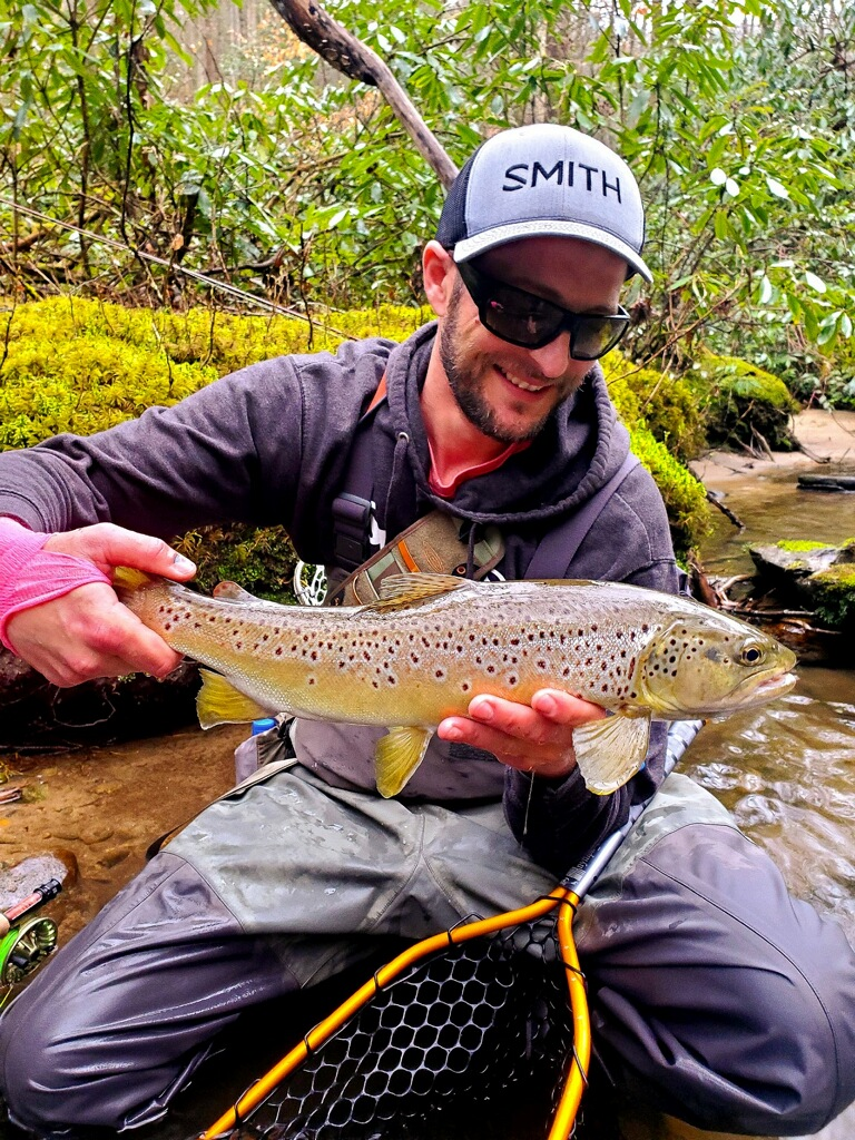 Dodson Fly fishing